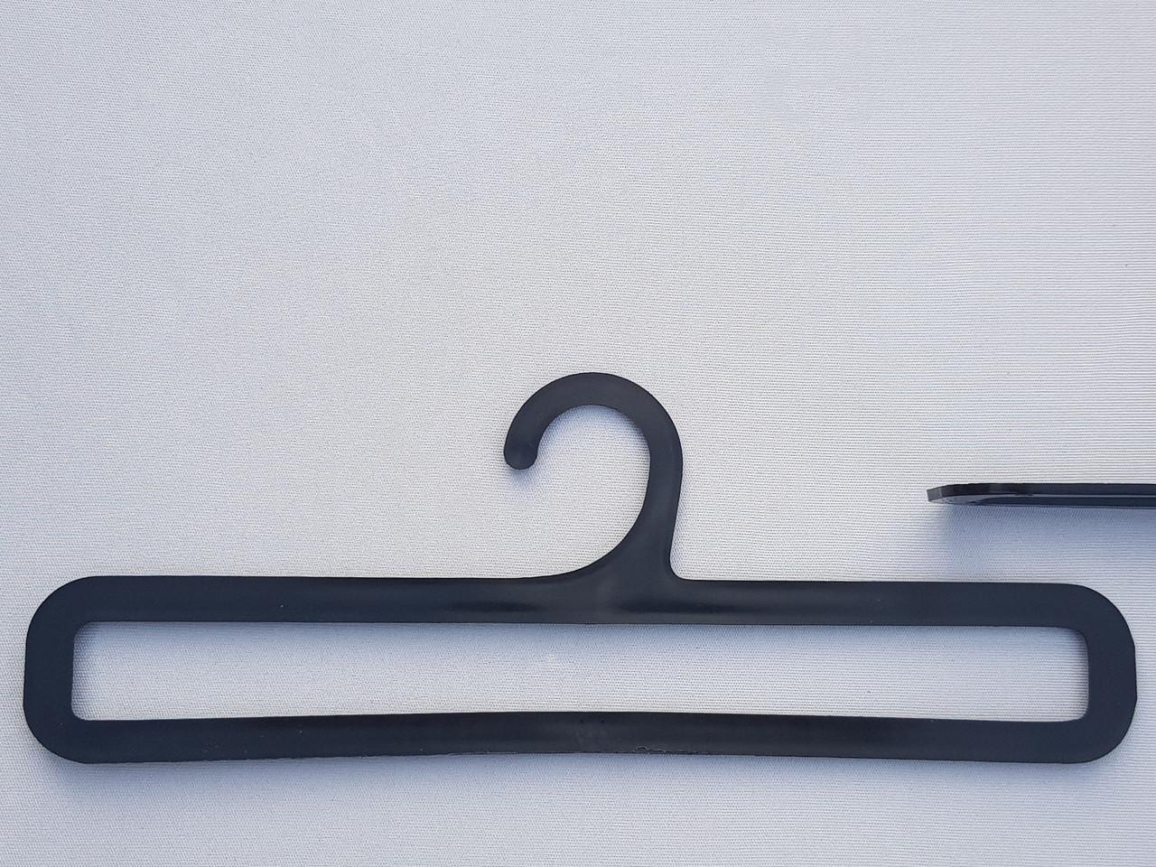 Плечики вешалки тремпеля V-AS25 для аксессуаров черного цвета