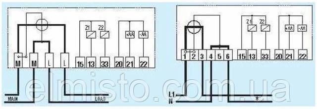 Схема подключения электросчетчика Iskra ME162-D1A4-1-V22G22-M3K0