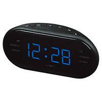 Часы сетевые 902-5 синие