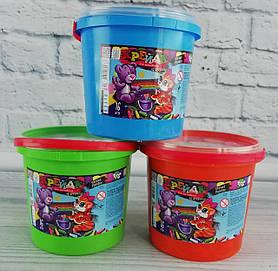 Мел цветной 16 цв. Для асфальта В ведре MEL-03-01 Danko-Toys Украина