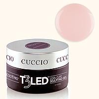 LED гель-желе для наращивания ногтей Cuccio Pro - прозрачно-розовый моделирующий, 28 г