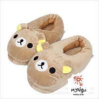 Тапочки игрушки плюшевые мишки