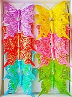 Декоративные бабочки на прищепке (8 см) 287012