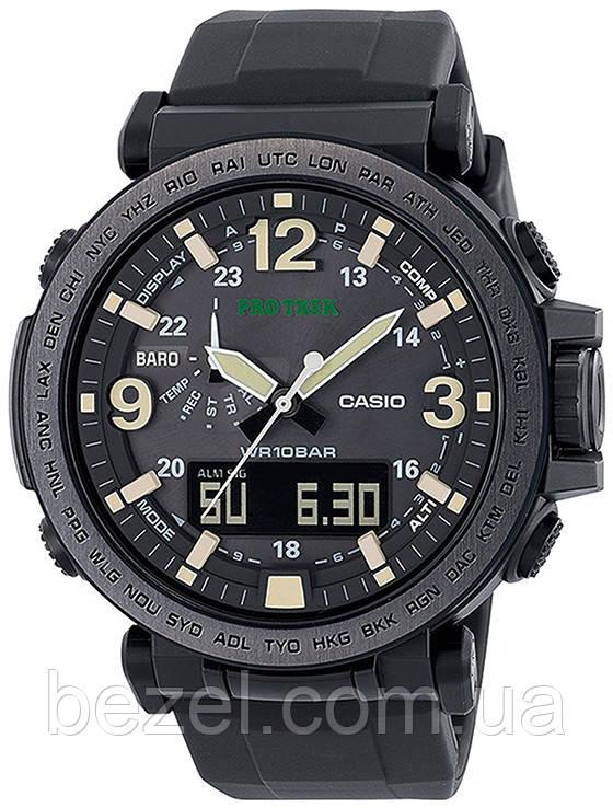 Мужские часы Casio ProTrek PRG-600Y-1ER Касио японские кварцевые
