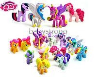 Набор фигурок Май Литл Пони цена за 12 шт My Little Pony 4-5 СМ Мой маленький пони Игрушка для девочек