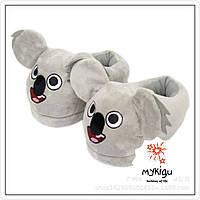 Тапочки игрушки плюшевые коалы