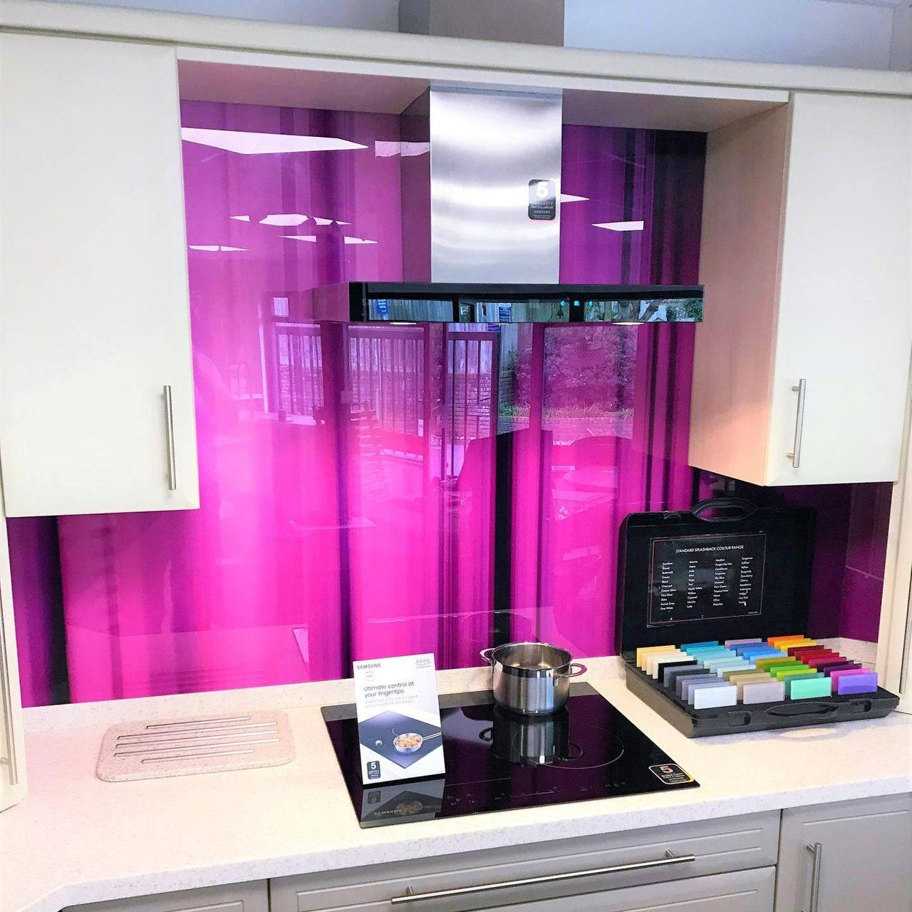 Фартук спектр розовый