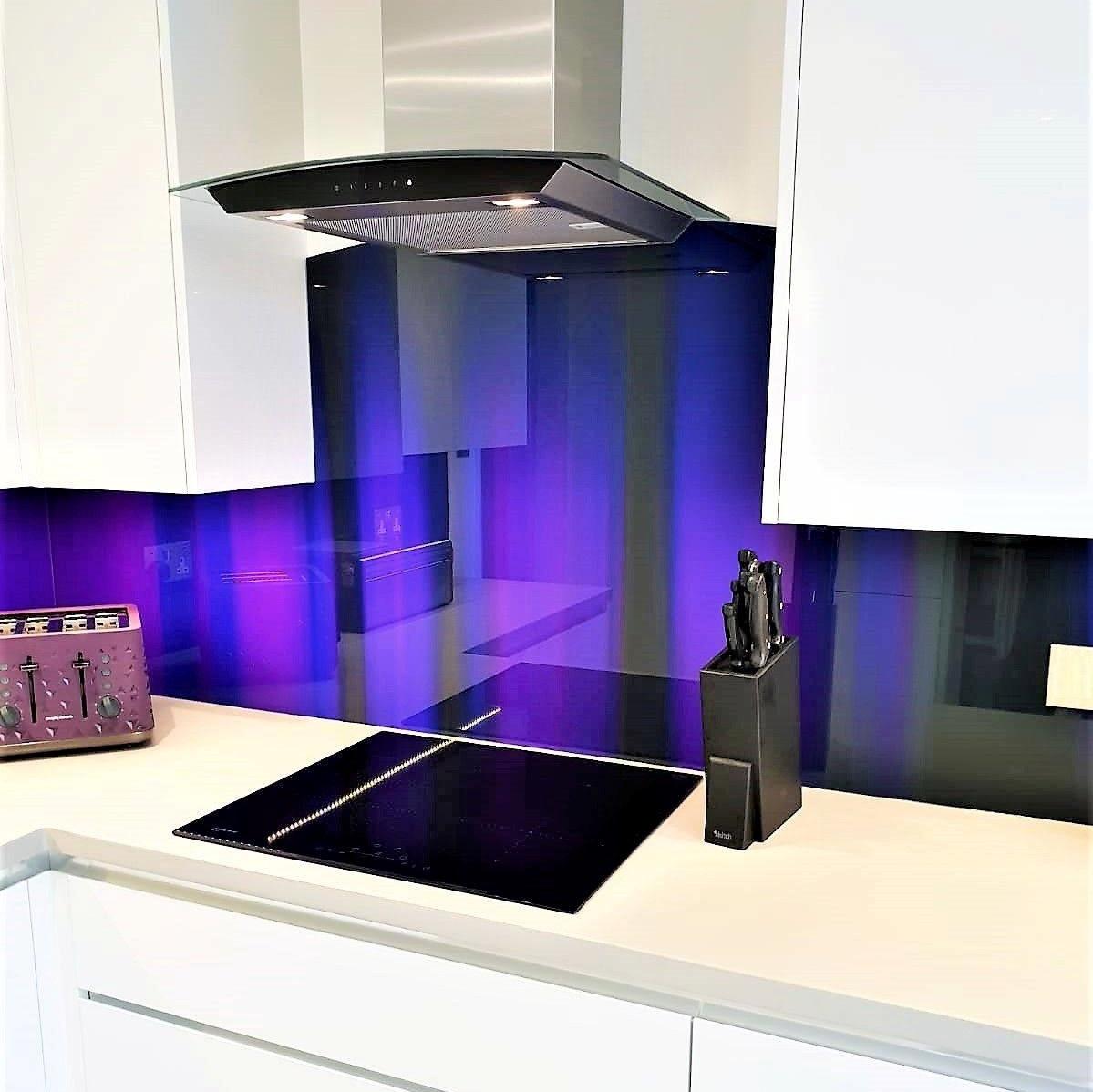 Фартук спектр фиолетовый