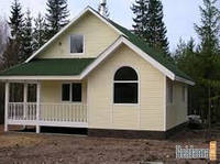 Строительство летних домов, домов дачных под ключ по каркасной технологии