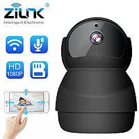 Zilnk DH39G-BL 2.0MP. ОхраннаяWiFi IP-камера 1080P. Ночное видение. Двухсторонняя аудио.IPC360