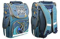 Рюкзак-коробка ортопедический 988352 Сноуборд (34,5*25,5*13см) Smile