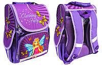 Рюкзак коробка ортопедический Smile 988386 (34,5*25,5*13см) Девочка Фея-Принцесса