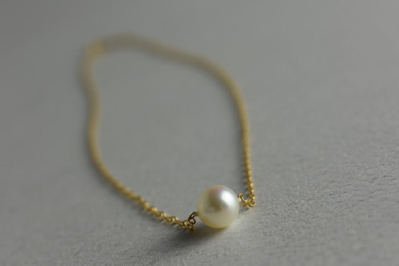 Дитяча Золотий ланцюжок з перлами