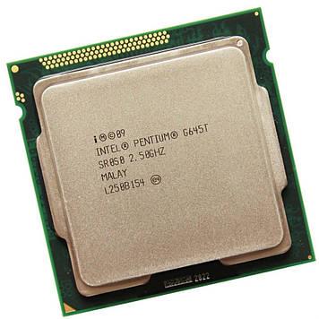 Процессор Intel Pentium G645T 2.5GHz/3M/5GT/s (SR0S0) s1155, tray