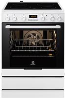 Электрическая плита Electrolux EKC 6430 AOW (60 см,электрическая духовка,белый)