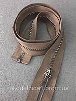 Молния металлическая  LAMPO Италия  разъёмная 60 см  для одежды, палаток, чехлов, сумок хорошего качества