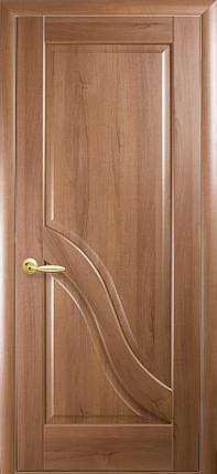 Двери Новый Стиль Амата глухое золотая ольха, коллекция Маэстра Р, фото 2