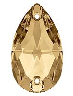 Камни Сваровски пришивные 3230 Golden Shadow