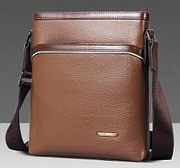 Мужская сумка. Офисная сумка. Качественная сумка. Сумка из кожи. Код: КСД38.
