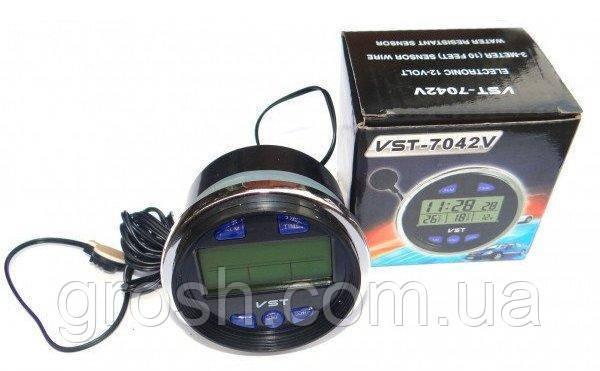 Автомобильные часы VST-7042