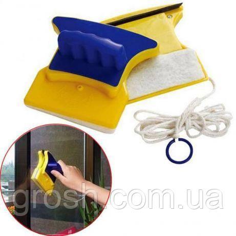 Магнитная щетка для мытья окон, фото 1
