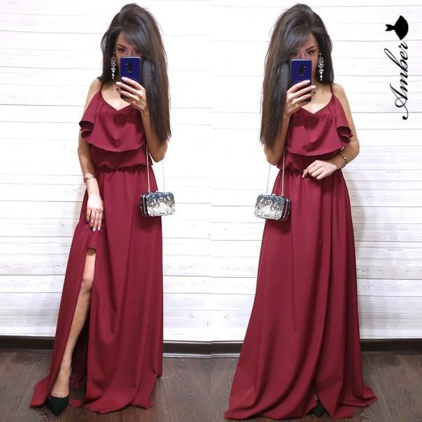"""Платье """"Фея"""" длинное и красивое, размер единый 42-46"""