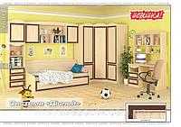 Набор мебели для детской №1 Дисней (Мебель-Сервис)  дуб светлый
