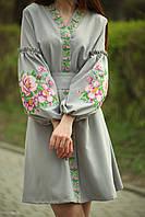 "Жіноче вишите плаття ""Жанет"" (Женское вышитое платье ""Жанет"") PJ-0007"
