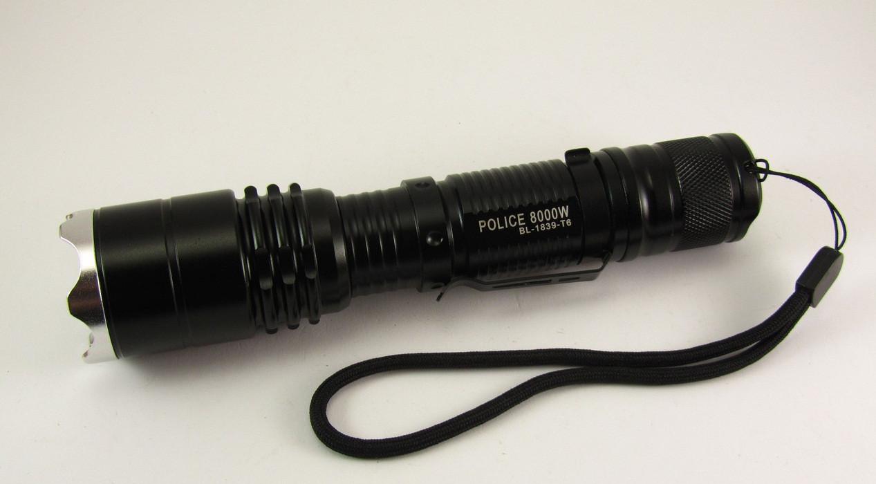 Фонарь светодиодный Police 8000W