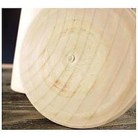 Конус деревянный 20х6 см, ольха