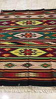 Килимова доріжка ткана шерстяна ручної роботи 205*150 см