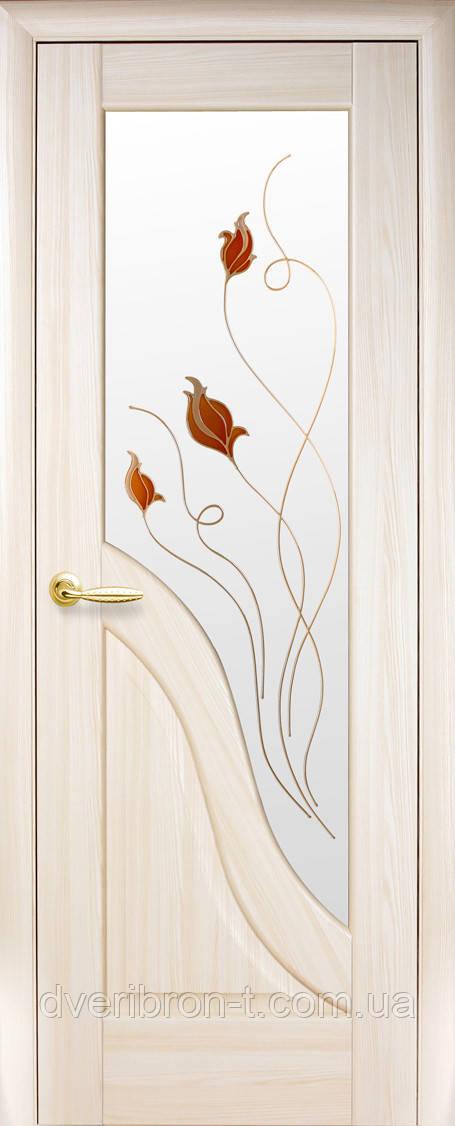 Двери Новый Стиль Амата + Р1 ясень, коллекция Маэстра Р