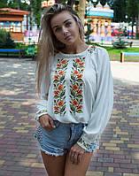 """Блуза вишита жіноча """"Соняшники"""" розміри в наявності"""