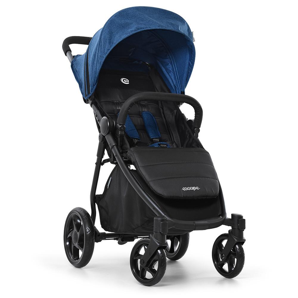 Прогулочная детская коляска-книжка ME 1032L ESCAPE Denim Black Гарантия качества Быстрота доставки