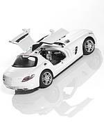 Радиоуправляемая модель Mercedes-Benz SLS AMG Coupe C197 White, Scale 1:14