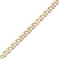 Золотая цепочка ЛАВ 2.5 мм, размер 50 см, фото 1