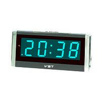 Часы сетевые 731-5 синие