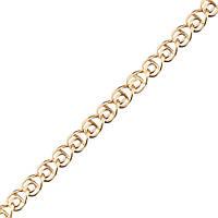 Золотая цепочка ЛАВ 2.5 мм, размер 55 см