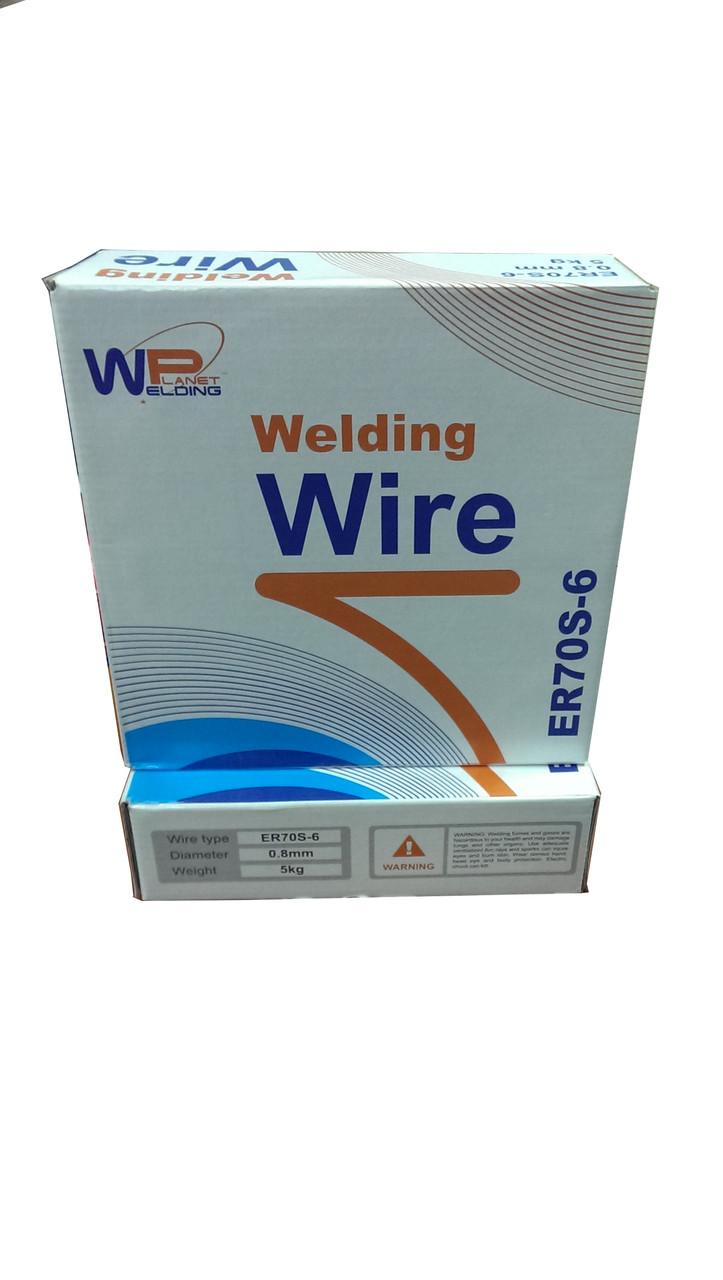 Сварочная проволока  WELDING PLANET ER70S6 (СВ08Г2С) 1,2 мм/5кг