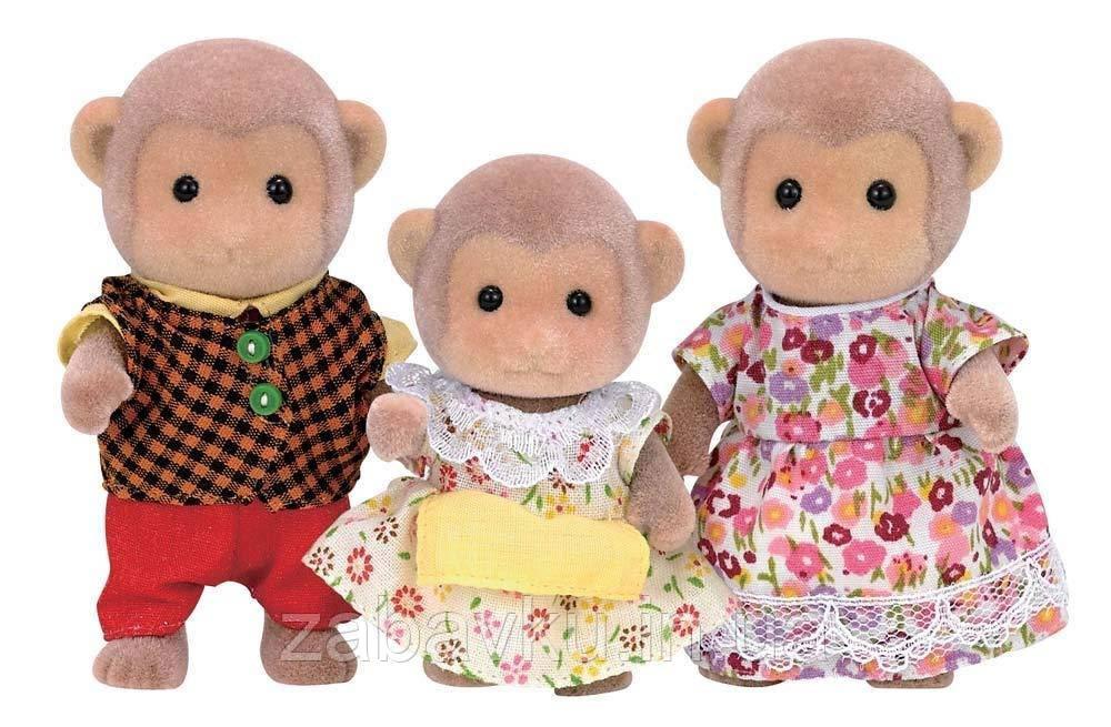 Сільваніан фемелі сім´я мавпочок Calico Critters CC1489 Mango Monkey Family