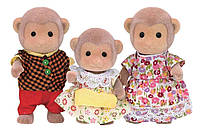 Сільваніан фемелі сім´я мавпочок Calico Critters CC1489 Mango Monkey Family, фото 1