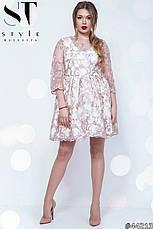 Женское платье из итальянское кружева , фото 2