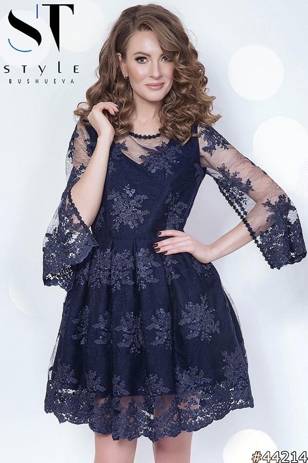 Женское платье из итальянское кружева