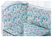 Детская постель Babyroom Comfort-08 unicorn голубой (единороги), фото 2