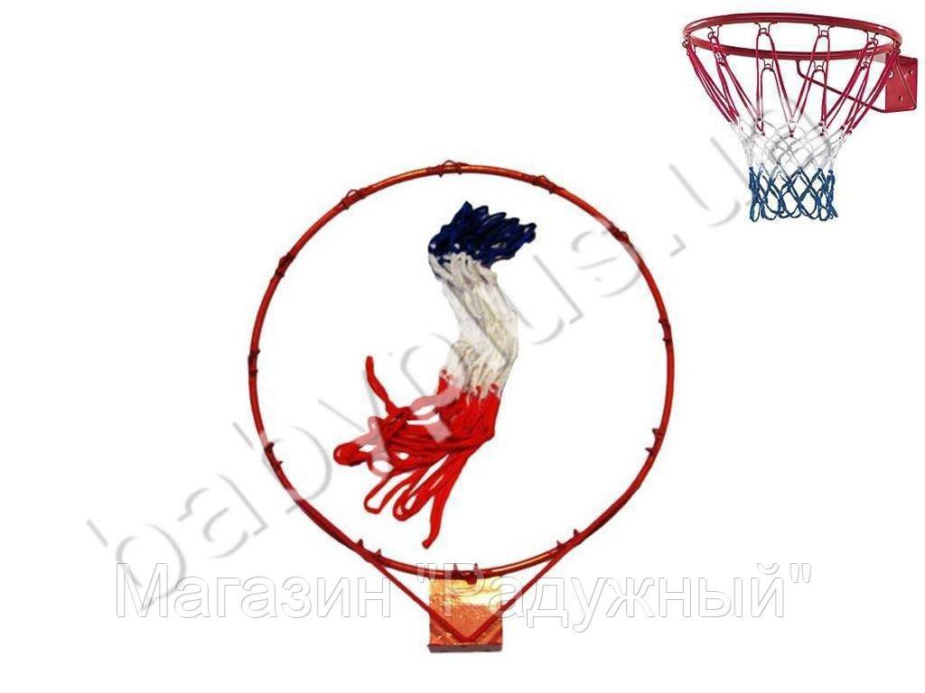 Баскетбольное кольцо металлическое d30 см.