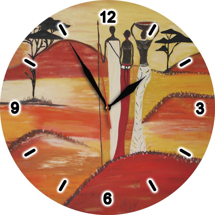 Годинники настінні скляні Т-Ок 005 SD-3010