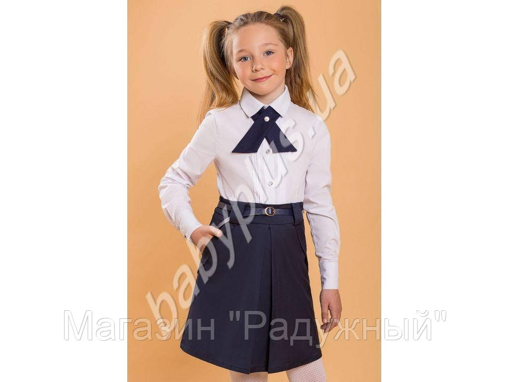 Блуза.Хлопок+спандекс (рост 134)