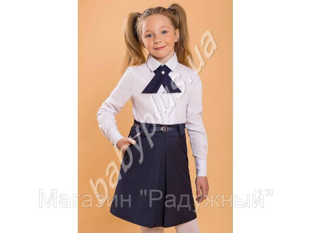 Блуза.Хлопок+спандекс (рост 140)