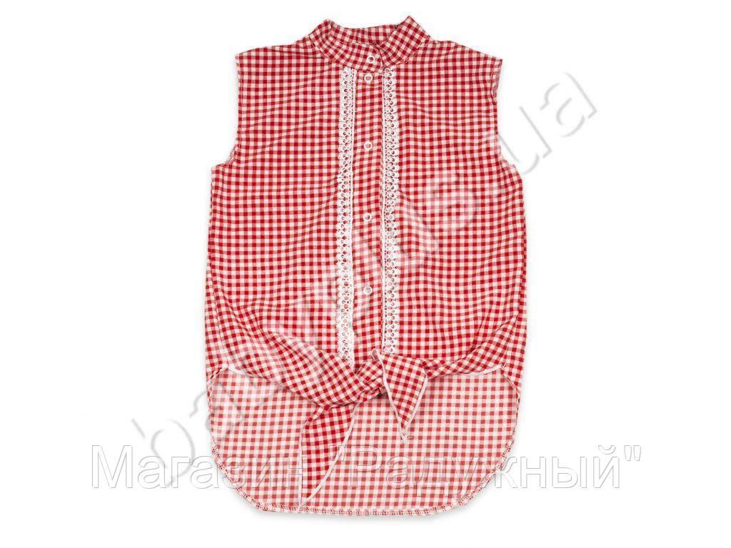Блуза.Штапель (рост 128-134, возраст 7-8 лет)