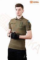 Поло футболка ВСУ Coolmax Олива